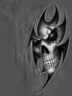 Картинка Тату череп