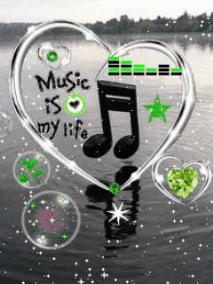 Картинка Музыка-это моя жизнь