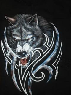 Картинка Волк новое тату