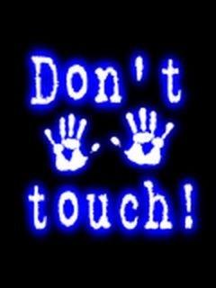 Картинка Не трогать