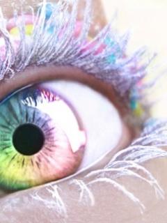 Картинка Красочный глаз