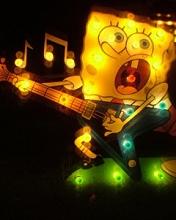 Картинка СпанчБоб-гитарист=)