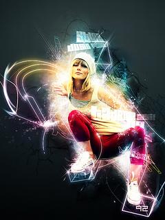 Картинка Hip hop Girl