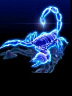 Картинка Неоновый скорпион