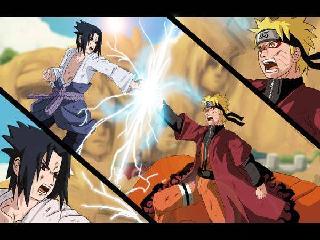 Картинка Naruto vs Sasuke