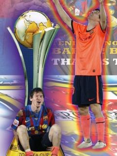 Картинка Lionel Messi 2010