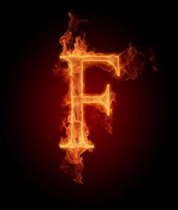 Картинка Буква F