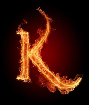 Картинка Буква K