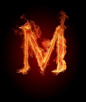 Картинка Буква M
