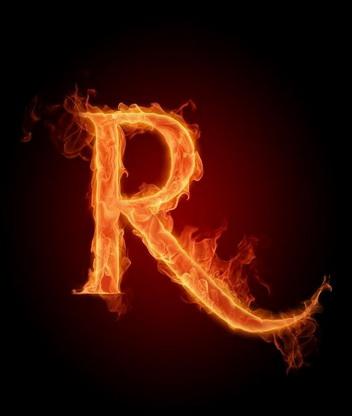 Картинка Буква R