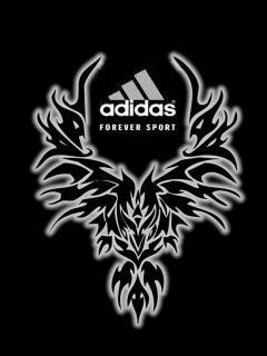 Картинка Adidas tribal