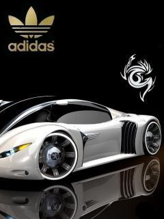 Картинка Adidas tribal car
