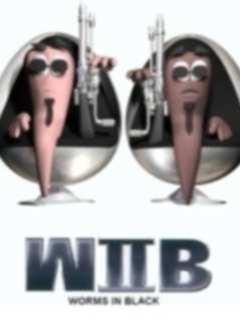 Картинка Wib-червячки в черном