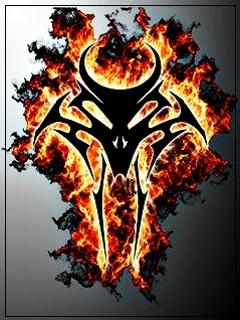Картинка Skull Tribal