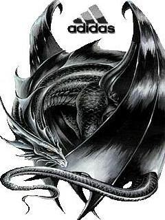 Картинка Adidas тату