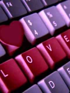 Картинка Введи слово любовь