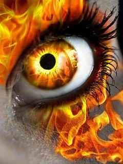 Картинка Огненный  глаз