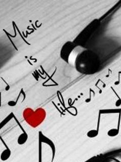 Картинка Музыка моя жизнь