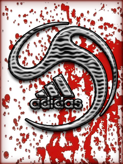 Картинка Adidas+кровь