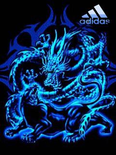 Картинка Адидас & дракон