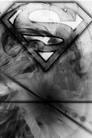Картинка Superman - Grayscale 2