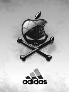 Картинка Adidas+skull
