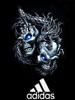 Картинка Adidas 2010+skull