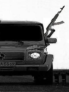 Картинка Mercedes Brabus G55