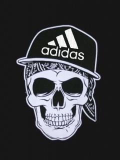 Картинка Рэпер+adidas