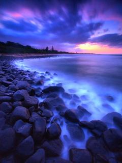 Картинка Море и камни