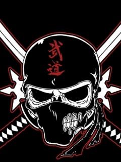 Картинка Ninja Skull