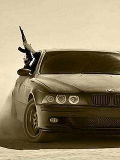 Картинка Bmw+AK-47