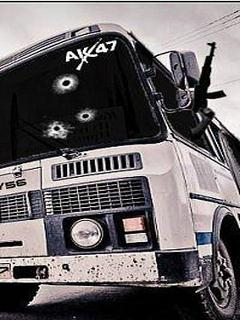Картинка ПАЗ+AK-47