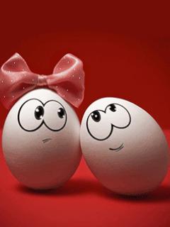 Картинка Влюблённые яйца
