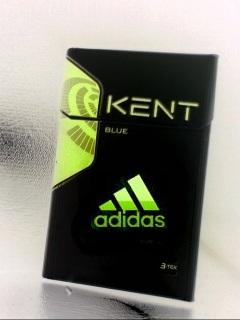 Картинка Kent + adidas в зеленом