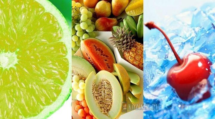 Картинка Сочные фрукты
