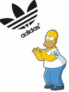 Simpsons adidas