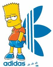 Картинка Simpsons adidas(bart)